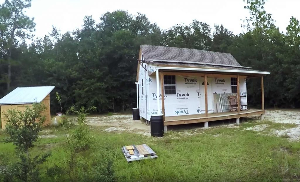 Attirant Off Grid Cabin, Solar Powered Cabin, Homesteading, Sustainable Cabin