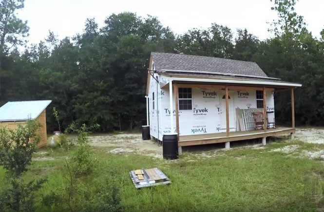 off grid cabin, solar powered cabin, homesteading, sustainable cabin